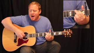 Here's My Heart Lord (David Crowder)- Worship Tutorial w/ Chord and Lyric Sheet