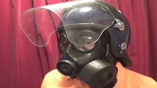 MK3 Guardian Riot Helmet modded to fit me