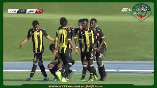 هدف الإتحاد الاول على الأهلي -  الدوري السعودي الممتاز للشباب 2017/2018