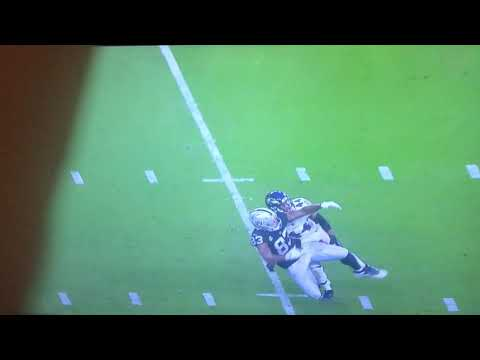 Marlon Humphrey almost interception