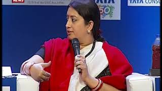 I&B Minister Smriti Irani speaks at ThinkEdu Conclave in Chennai