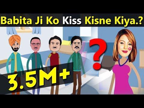 Xxx Mp4 Babita Ji Ko Kiss Kisne Kiya Dimagi Paheli Ep 10 Cartoon Sarkar 3gp Sex