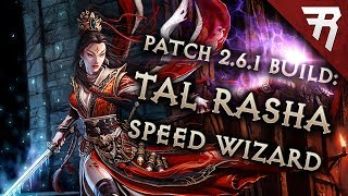 Diablo 3 Season 15 Wizard Tal Rasha Speed build guide (and bounties) (Patch 2.6.1)