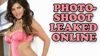 Sunny Leone's Old Photoshoot Leaked Online | Bollywood News