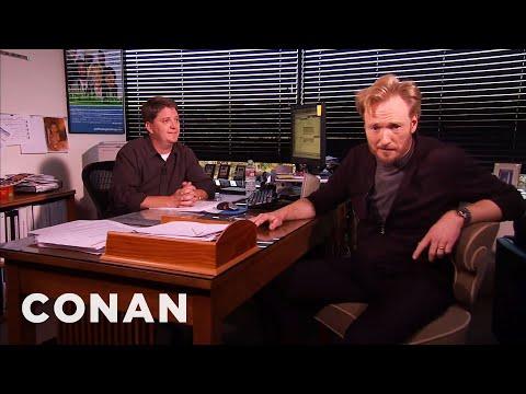 Conan Meets His Censor CONAN on TBS