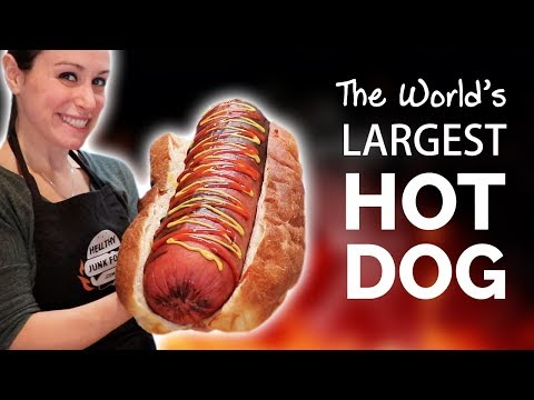 Xxx Mp4 HOW WE MADE THE WORLD 39 S LARGEST HOT DOG 🌭 3gp Sex