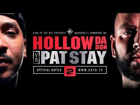 KOTD - Rap Battle - Hollow Da Don vs Pat Stay | #MASS2