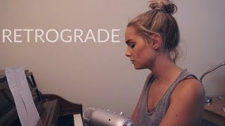 Retrograde - James Blake (Cover) by Alice Kristiansen