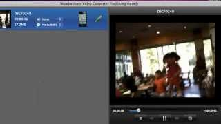 Demo video about how to use Video Converter Pro