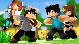 Minecraft: HARDCORE DUPLA #2 - MATAMOS A PRIMEIRA DUPLA!