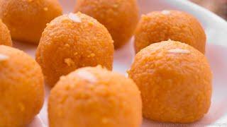 Motichoor Ladoo Recipe    Indian Sweet Laddu   Homemade Indian Recipes   Hindi
