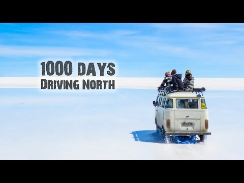 The Longest Road in The World 3 years in 1 video