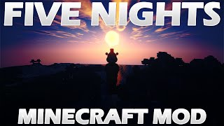 Five Nights at Freddy's (FNAF) Minecraft Character Mod