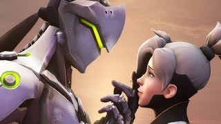 Genji Falls For Mercy | Overwatch Voice Acting