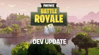 Battle Royale Dev Update #8 - Jetpack Info & Supply Llamas