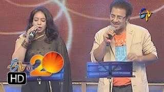 Srilekha,VandemataramSrinivas Performance -Modati Saari Song in Warangal ETV @ 20 Celebrations