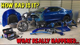 Rebuilding A Wrecked 2018 Camaro ZL1 Part 2