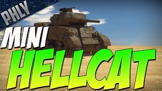 RARE & OVERPOWERED TANK - M8A1 (War Thunder Tanks Gameplay)