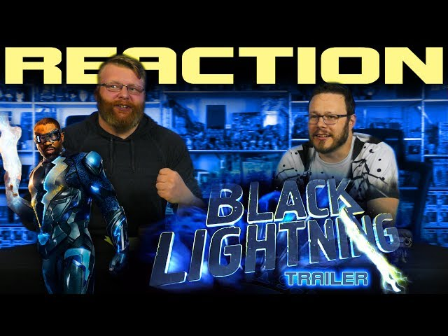 Black Lightning - First Look Trailer REACTION!!