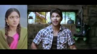 Allu Arjun in Krishna - Super Hit Romantic song - Malayalam - HQ.flv