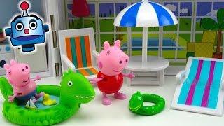 Peppa Pig Casa de Vacaciones Holiday Sunshine Villa Playset - Juguetes de Peppa Pig
