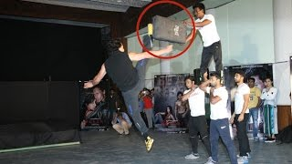 Tiger Shroff's Deadly Action Stunts During Baaghi Promotions