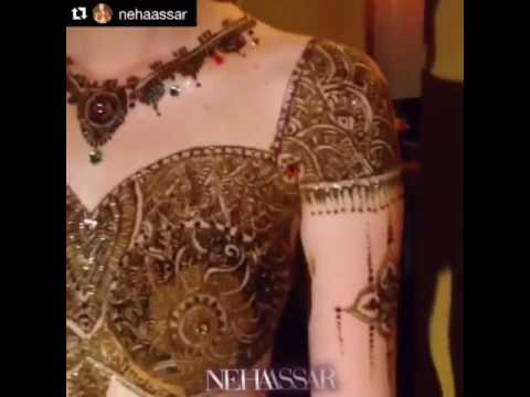 Henna Body Art at LA Fashion Week Spring/Summer 2014 by Neha Assar