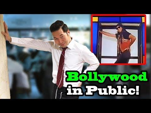 BOLLYWOOD SONGS IN PUBLIC!! (Sheila Ki Jawani, Lovely, Tu Cheez Badi Hai, Tunak Tunak Tun)