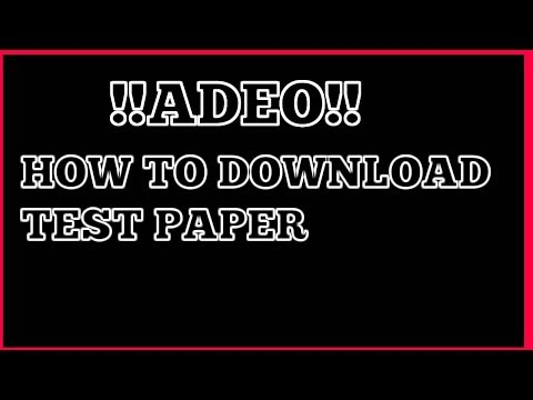 Xxx Mp4 How To Downlod Pdf ADEO Exam 3gp Sex