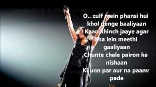 Yaaram with lyrics by Sunidhi Chauhan