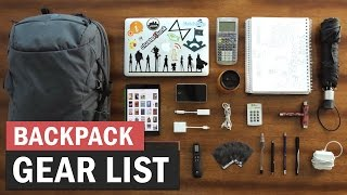 What's in My Backpack? - College Info Geek