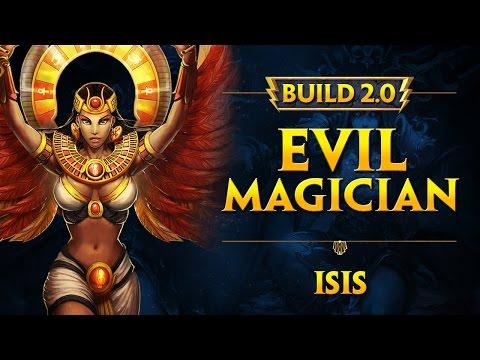 Build SMITE 2.0 :: Isis :: Evil Magician [mid/solo]