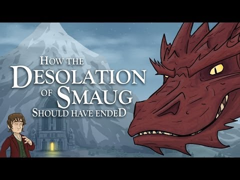 How The Desolation of Smaug Should Have Ended