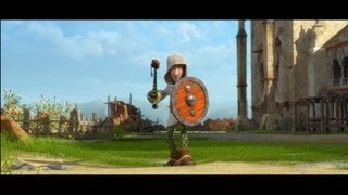 JUSTIN AND THE KNIGHTS OF VALOUR - Official Theatrical Trailer