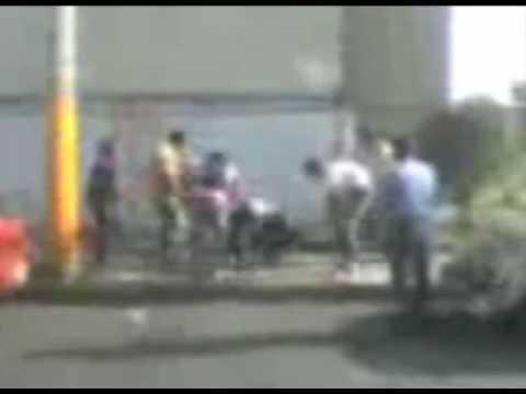 Golpean a asaltantes de transporte en Ecatepec