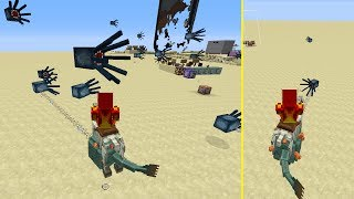 Flying Shooting Horse Fish in Minecraft 1.12