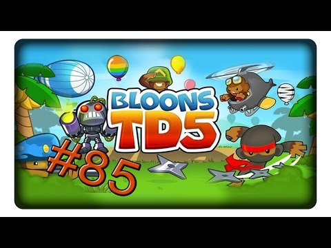 GEHEIMWAFFE HELI #85 Let's Play BTD5 || BLOONS TOWER DEFENSE 5 | Deutsch | German