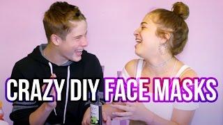 CRAZY DIY FACE MASKS | Baby Ariel