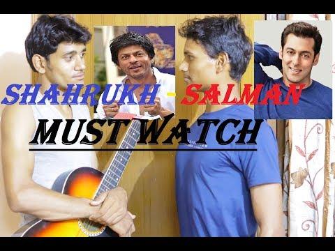 Xxx Mp4 Amazing Salman Meets SAD Shahrukh 3gp Sex