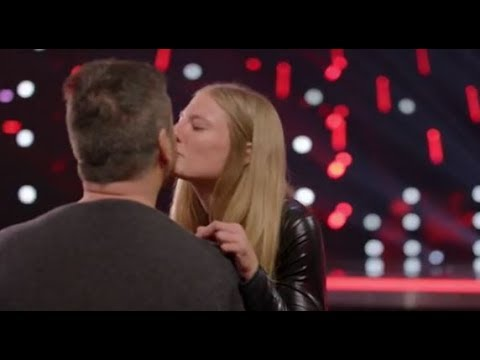 Xxx Mp4 Simon Falls In LOVE With Trainer Sara Carson And Her Dog Hero America's Got Talent 2017 3gp Sex