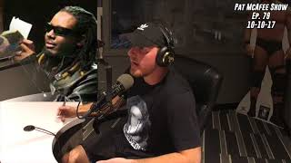 The Pat McAfee Show Simulcast Ep. 79- Opening Thoughts 10-10-17