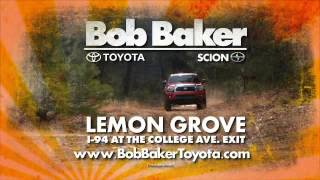 Bob Baker Toyota Scion Lemon Grove near San Diego May 2013 Commercial