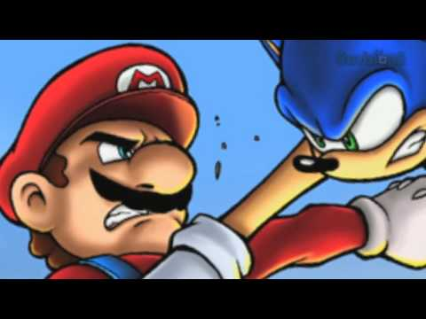 Sonic Shadow & Silver watch DEATH BATTLE MARIO V.S. SONIC