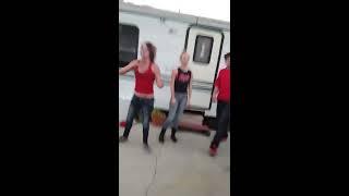 Redneck trailer park cat fights