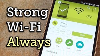 Make Android Auto-Select the Strongest Wi-Fi Connection for You [How-To]