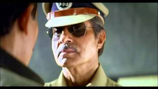 Bollwood Patriotic Scene - Khakee - Amitabh Bachchan - Akshay Kumar - Ansari Mantains His Silence