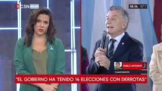 Macri Apuntó Contra Moyano - Habla Pablo Moyano