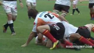 Sharks vs Cheetahs highlights - Currie Cup - Sep 2010