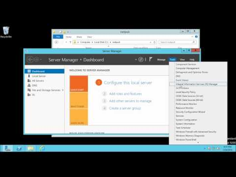 Host Name : How to configure multiple sites in IIS 8 on Windows Server 2012