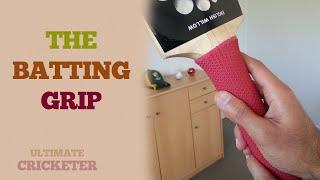 Cricket Batting Tips - How you should Grip a Cricket Bat